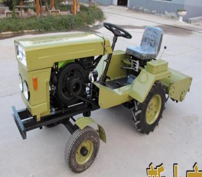 潍坊泰山农用小型10马力、12马力、15马力的4轮拖拉机新型4轮田园管理机
